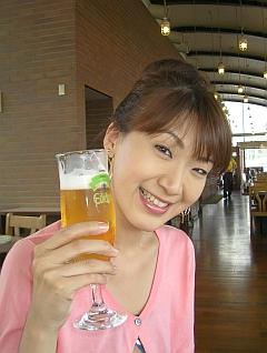 暑い日には冷たいビール!